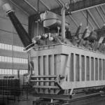Trasformatore consegnato dal Tecnomasio Brown Boveri all'Enel nel 1965 per la sottostazione di Baggio (Milano)