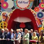 Il presidente Squinzi e il ministro Guidi inaugurano Fabfood