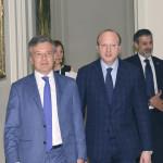 Vincenzo Boccia Presidente Confindustria -  Giuliano Busetto Presidente ANIE