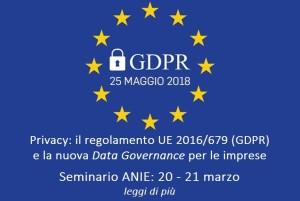 seminario anie GDPR